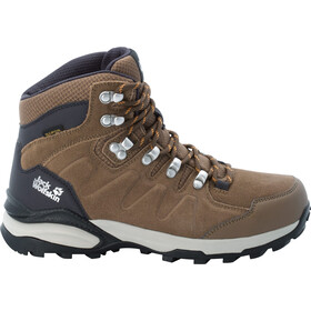 Jack Wolfskin Refugio Texapore Mid Shoes Women, bruin